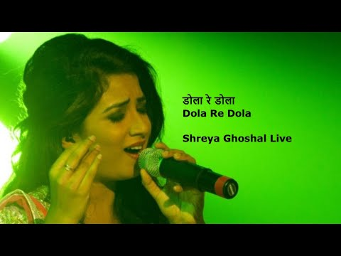 Dola Re Dola || Shreya Ghoshal's Best Live Concert