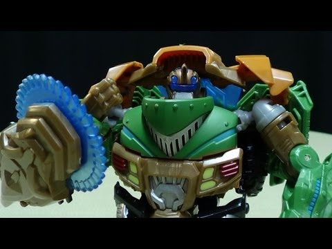 Transformers Prime Beast Hunters Deluxe BULKHEAD: EmGo's Transformers Reviews N' Stuff