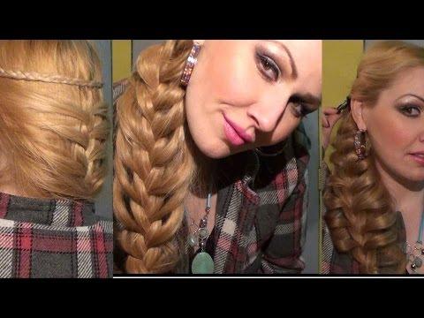Trenza Sirena FRANCESA peinado bonito y facil Moda 2013