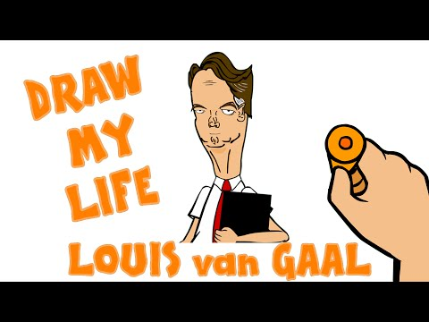 LOUIS van GAAL - DRAW MY LIFE parody (highlights top quotes best moments)