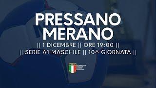 Serie A1M [10^]: Pressano - Merano 24-23