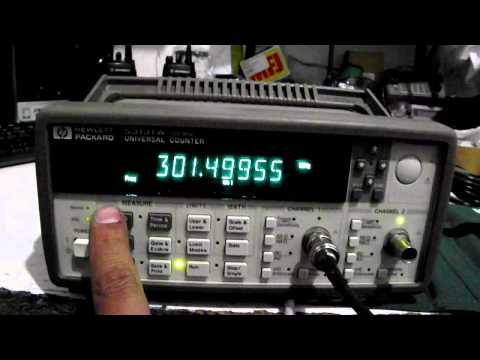 HP Agilent 53131A 255MHz Frequency Counter opt 001,010