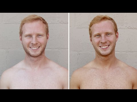 Gingers Get Spray Tans For The First Time