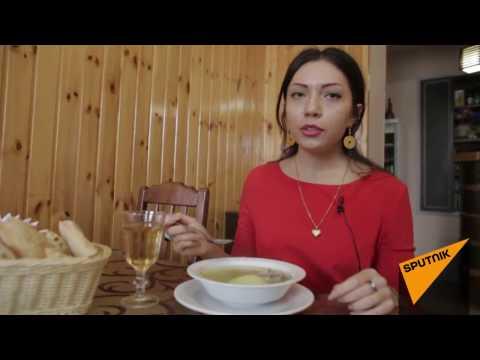 Осетинский суп лывжа