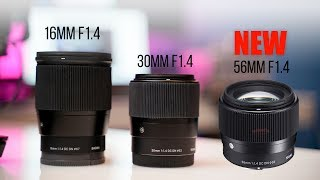 Sigma's New 56mm F1.4 APSC Sony Lens & More (Leaked Images)