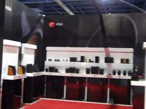Swan Speaker - Exhibit Graphics - CES 2011