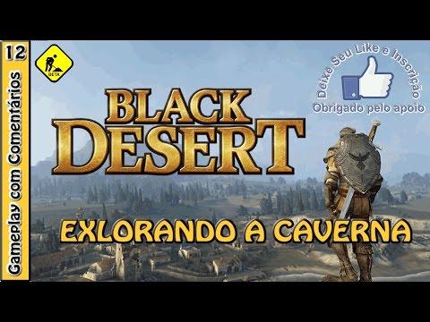 BLACK DESERT Open Beta com o Warrior, achei uma caverna !