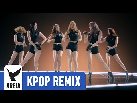 Wanna.B Attention (Areia Kpop Remix) music videos 2016