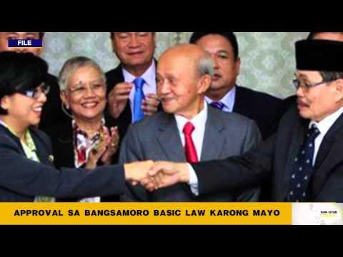 Approval sa Bangsamoro Basic Law