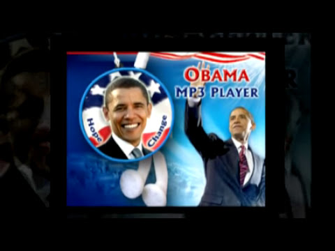 Obama MP3 Player, only $29