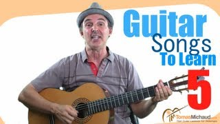 Guitar Songs To Learn 5 of 5 l Easy Songs for Beginners - Take Me Home Country Roads