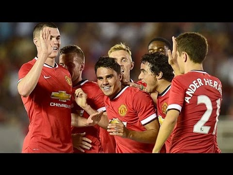 "Louis Van Gaal ""surprised"" after Manchester United thrash LA Galaxy 7-0"