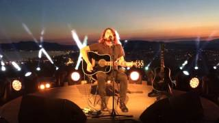 """Dave Grohl Foo Fighters """"Learn to Fly"""" acoustic at Cannes Lions 2016"""