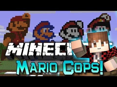 Minecraft: Modded Cops n' Robbers! w/Mitch & Friends - Mario Mods!