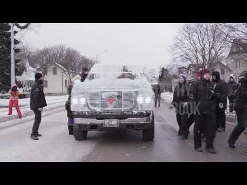 World Record Drive Attempt by the Canadian Tire Ice Truck (Winter 2013)