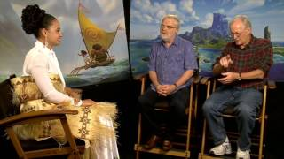 Host Diamond Langi Interviews Disney Moana Directors Ron Clements & John Musker