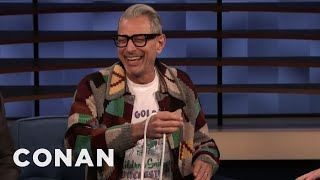 Jeff Goldblum Does Rope Magic Tricks - CONAN on TBS