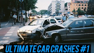 The ULTIMATE Russian Car Crash Compilation #1 - [2015]