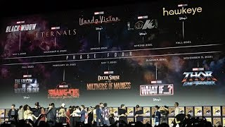 MARVEL PHASE 4 OFFICIALLY REVEALED!!!