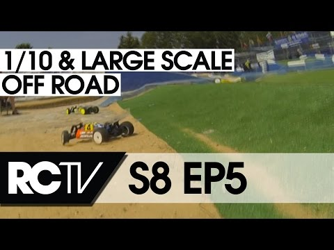 RC Racing TV S08  EP5 - EFRA 4WD Large scale and 2WD 1/10th off Road 2013