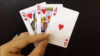 Amazing Magic Card Trick To Impress Your Friend...