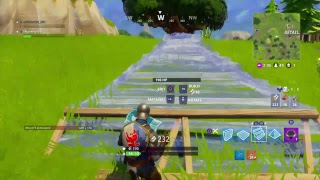 Fortnite with unwanted floor is lava challenge