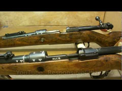 Mauser K98 Differences: 42 vs BYF