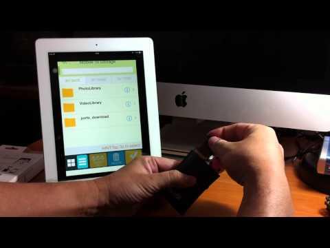 การเอาไฟล์ เข้า-ออก iPad/iPhone และ Android ไร้สาย ง่าย สะดวก