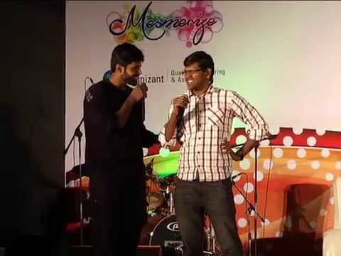 Mimicry performance by VIGNESH & NAGESH at Cognizant Mesmerize...