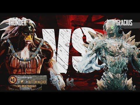 Killer Instinct Xbox One Thunder vs Glacius Kyle Difficulty Ultra Combo