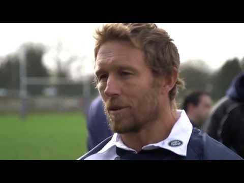 Land Rover Rugby Ambassadors visit the World's Smallest Rugby Club