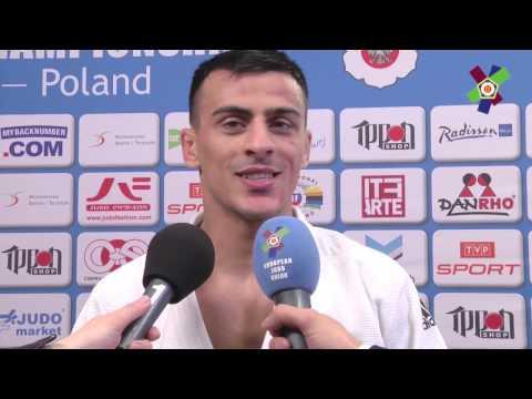 #JudoWarsaw2017: Interview with Georgii ZANTARAIA -66KG