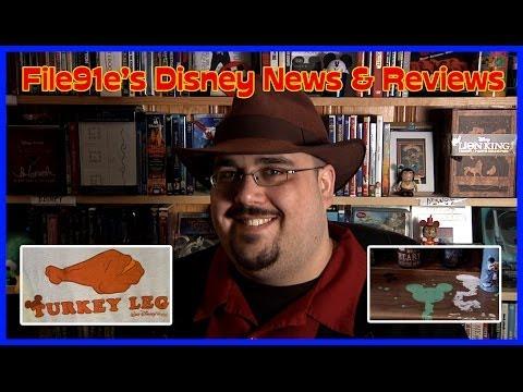 File91e's Disney News & Reviews  (Turkey Legs & Hidden Mickey's)