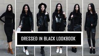 Dressed in Black Lookbook