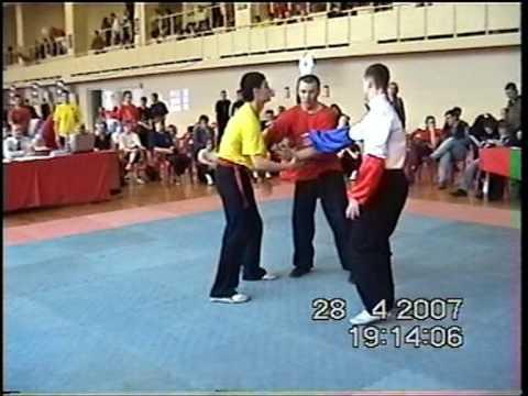 Туйшоу, мужчины до 75 кг, полуфинал. Сорокин Сергей