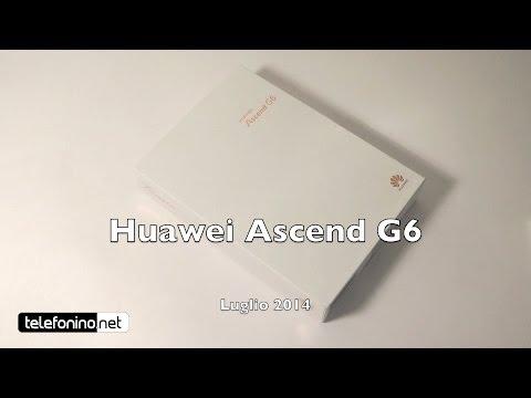 Huawei Ascend G6 la recensione di Telefonino.net