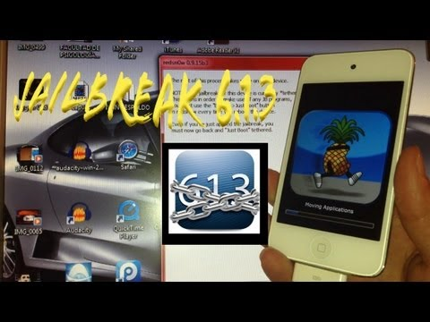 jailbreak ios 6.1.3 tethered para iphone 3gs. iphone 4g y ipod touch 4g TUTORIAL español