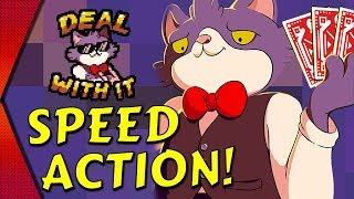 Cat Stacks Fever - BEST SPEED CARD GAME ON MOBILE! | MGQ Ep.186