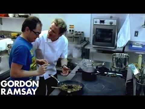 'I'm a Chef and You're a Cook' - Gordon Ramsay vs. Alan Carr