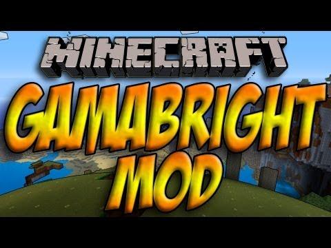 Minecraft 1.5.2/1.5.1 - Como Instalar GAMMABRIGHT MOD - ESPAÑOL [HD] 1080p