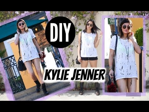 DIY Kylie Jenner Hole Shirt