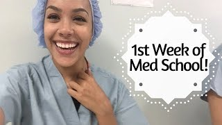 FIRST WEEK OF MED SCHOOL-  A day in the life!