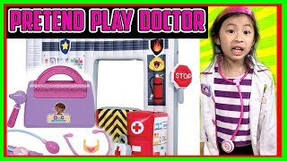 I MAILED MYSELF to Ryan ToysReview and it WORKED! It Gone WRONG to PRETEND PLAY DOCTOR Part 4- FunTV