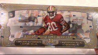 NFL Topps 2015 Museum Collection Box Break!! 2 AUTOGRAPHS!!!!