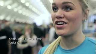 Sam Briggs Vs Katrin Davidsdottir @ London Throwdown 2013 - How CrossFit changes their lives