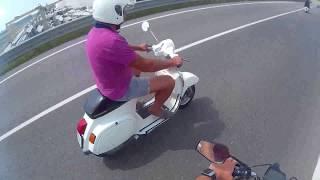Incontro a 2 ruote Favaro veneto + auto d'epoca
