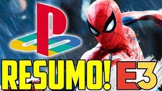UM GAME MELHOR QUE O OUTRO! - RESUMO CONFERÊNCIA SONY PLAYSTATION - E3 2018
