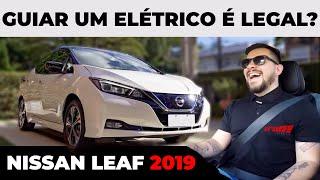 NISSAN LEAF FINALMENTE CHEGA AO BRASIL - É LEGAL GUIAR UM ELÉTRICO? / Vrum Brasília