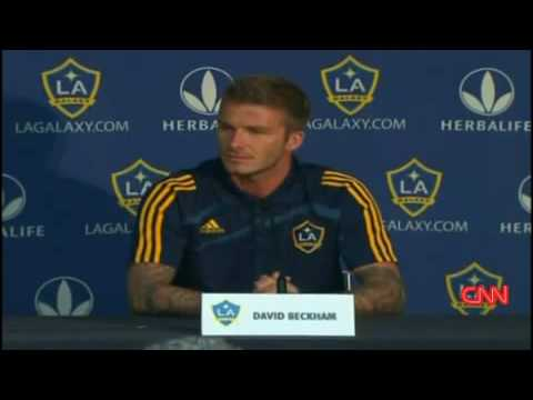 David Beckham sets record straight