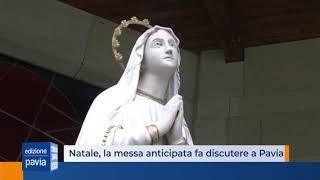 Natale, la messa anticipata fa discutere anche a Pavia